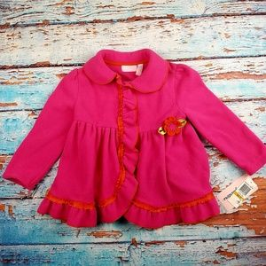 Signature kids headquarters jacket NWT 3T